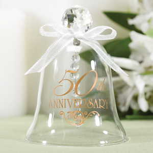 50th Anniversary Glass Bell imagerjs