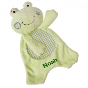 Personalized Friendly Frog Lovey imagerjs