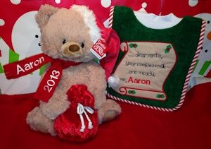 First Christmas Teddy Gift Set imagerjs