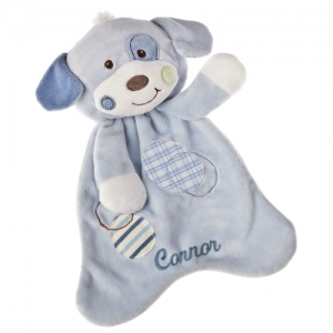 Patches the Puppy Personalized Lovey imagerjs