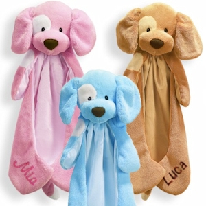 Spunky Puppy Personalized Huggybuddy (3 Colors) imagerjs