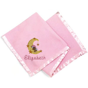 Personalized Fleece Baby Blankets (5 Colors) imagerjs