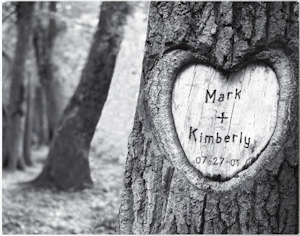 Tree of Love Personalized Canvas Print imagerjs