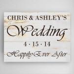 Wedding Reception Canvas Print