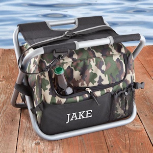 Personalized Sit N Sip Camouflage Cooler Combo imagerjs