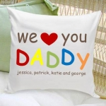 Personalized Dad Throw Pillow (5 Designs)