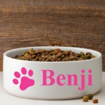 Personalized Classic Dog Bowls (4 Designs - 9 Colors)