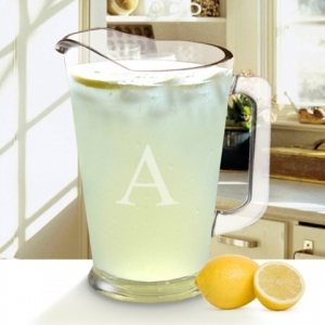 Personalized Glass Pitcher (60 ounce) imagerjs