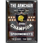 Personalized Fantasy Football Champion Pub Sign