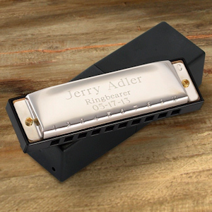 Personalized Stainless Steel Harmonica imagerjs