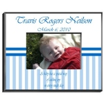 Personalized Baby Boy Frame
