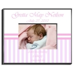 Personalized Baby Girl Frame