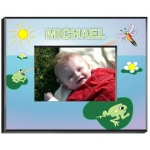 Personalized Frog Frame