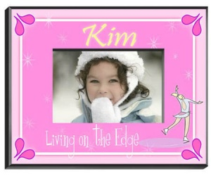 Personalized Ice Skater Frame image