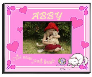 Personalized Kitten Frame image
