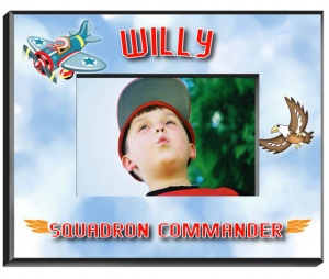Personalized Airplane Frame image