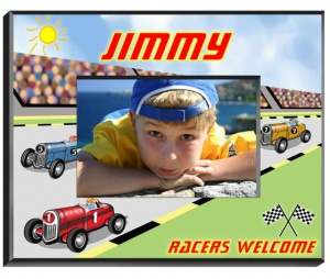 Personalized Race Car Driver Frame image