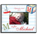 Personalized Sailor Boy Frame