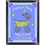 Personalized Carriage Room Sign (Boy)