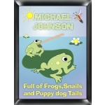 Personalized 'Froggin' Room Sign
