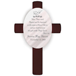 Personalized Scripture Baptism Cross