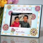 Personalized Mother's Day Flowers Photo Frame