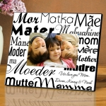 Customized Mom's Love in any Language Frame