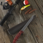 Personalized Woody Filet Knife