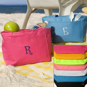 Breezy Bay Personalized Cooler Totes (7 Colors) imagerjs