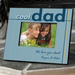 Personalized Cool Dad Photo Frame