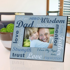 Personalized All-Star Dad Picture Frame imagerjs