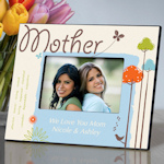 Personalized Mother Photo Frame (5 designs)