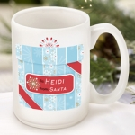 Personalized Winter Holiday Coffee Mugs (13 Designs)