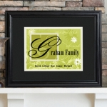 Personalized Family Name Sign (6 Colors)