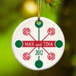 Contemporary Classic Christmas Ornament (3 Colors)