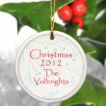 Simply Natural Holiday Ornament (3 Colors)