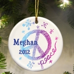 Personalized Kids Christmas Ornament (6 Designs)