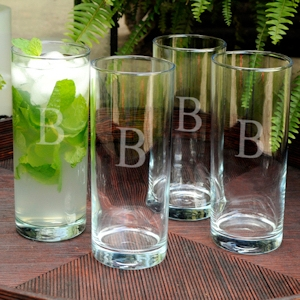 Personalized Portico Slim Glass Set imagerjs