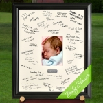 Personalized Baby Shower Signature Frame