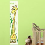 Personalized Giraffe Height Chart (2 Colors)