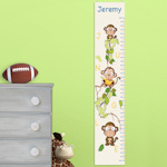 Barrel of Monkeys Personalized Height Chart (2 Colors)
