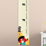 Personalized Retro Growth Chart (Boy or Girl)