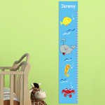 Under the Sea Personalized Height Chart