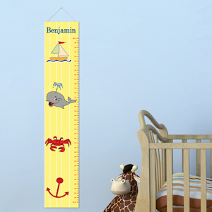 Little Sailor Personalized Height Chart imagerjs