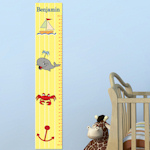 Little Sailor Personalized Height Chart