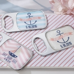 Personalized Nautical Shower Bottle Openers