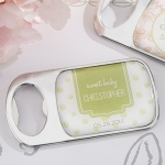 Personalized Rustic Baby Shower Bottle Openers
