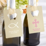 Personalized Religious Gold Credit Card Bottle Openers