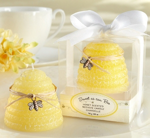 'Sweet As Can Bee' Honey Scented Beehive Candles (Set of 4) imagerjs