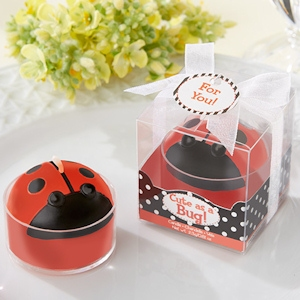 'Cute as a Bug' Ladybug Tealight Candles (Set of 4) imagerjs